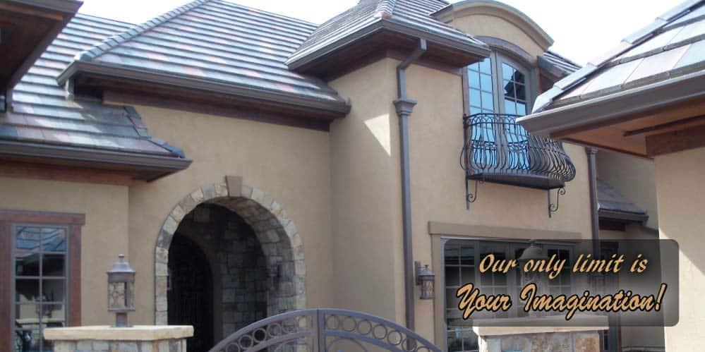 House stucco repair
